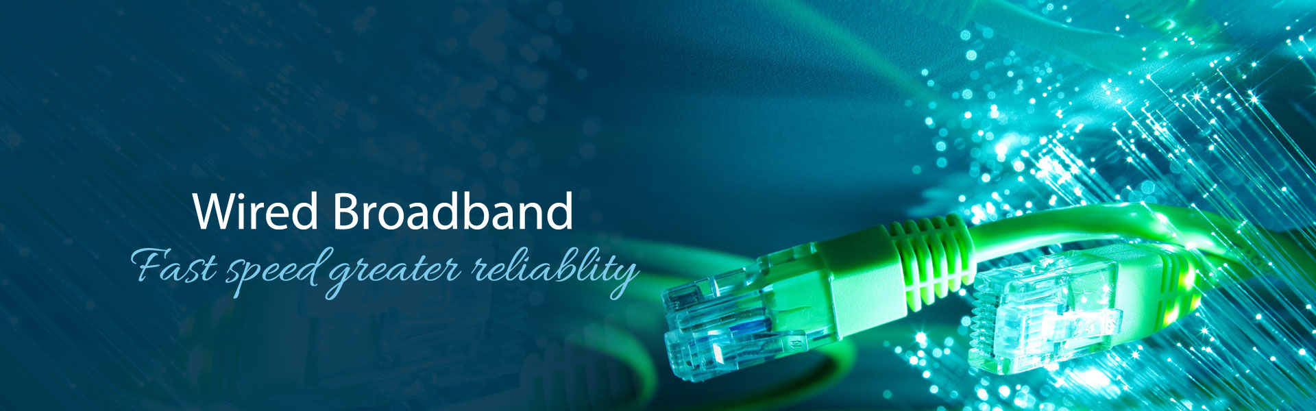 wired broadband services